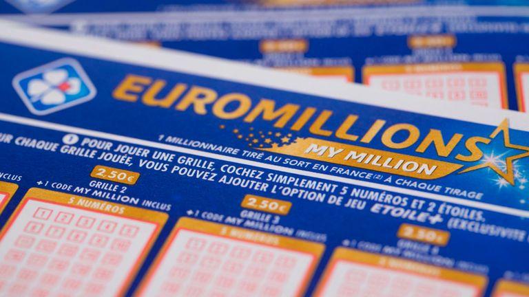 Статистика лотереи EuroMillions